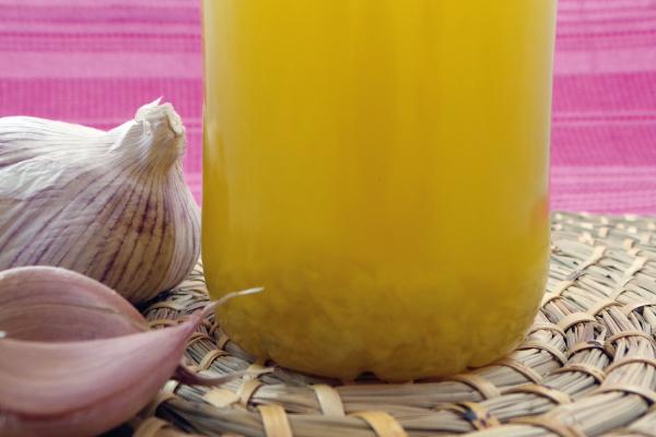 Aceite aromático de ajo